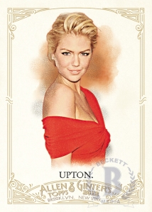 Kate Upton Allan and Ginter Card from Topps